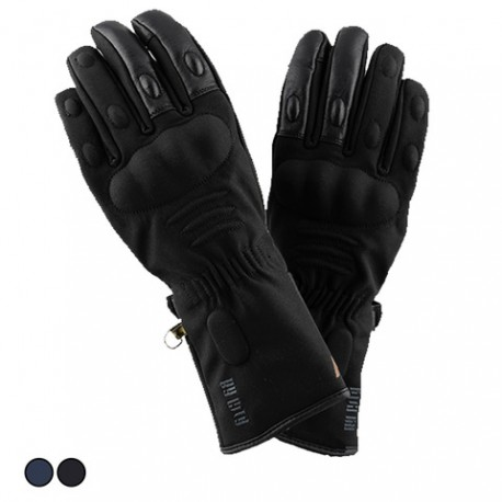 GUANTES BY CITY CONFORT II AZUL NEGRO