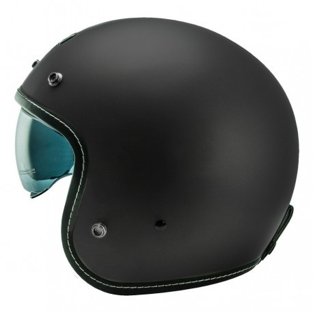 CASCO NOS NS-1 NEGRO MATE