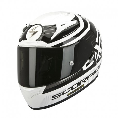 CASCO SCORPION 2000 EVO AIR FORTIS NGRO BLANCO