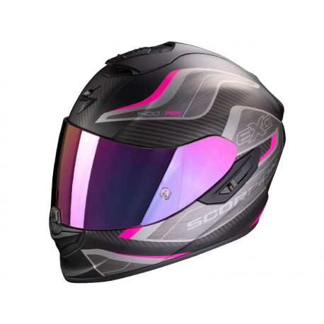 CASCO SCORPION 1400 AIR ATTUNE ROSA NEGRO