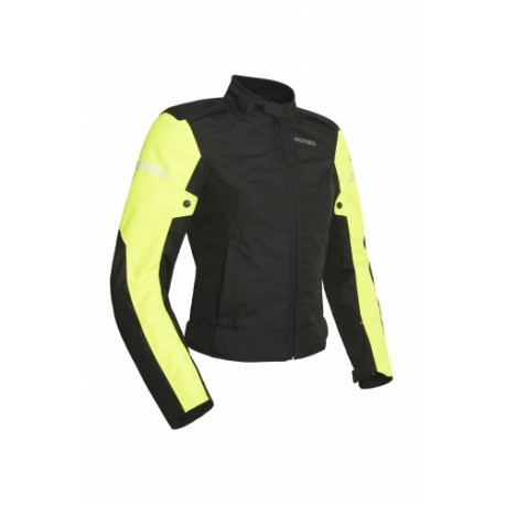 CHAQUETA ACERBIS DISCOVERY GHIBLY LADY NEGRO AMARILLO FLUOR