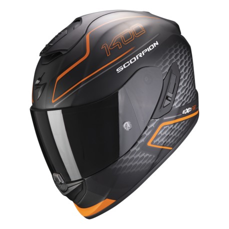 CASCO SCORPION 1400 GALAXY NARANJA MATE