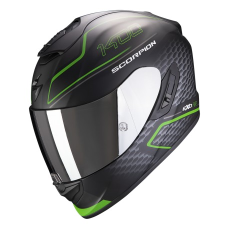 CASCO SCORPION 1400 GALAXY VERDE MATE