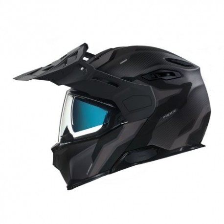 CASCO NEXX X.VILIJORD LIGHT NOMAD NEGRO MATE