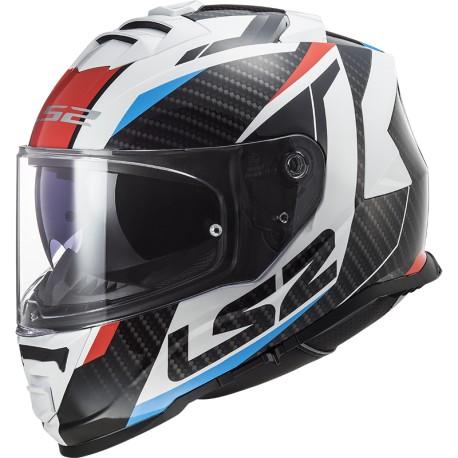 CASCO LS2 FF800 STORM RACER ROJO AZUL