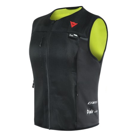 CHALECO AIRBAG DAINESE SMART LADY NEGRO AMARILLO FLUOR