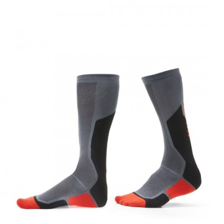 CALCETINES REVIT CHARGER NEGRO ROJO