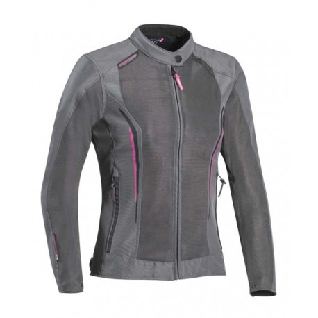 CHAQUETA IXON COOL AIR LADY GRIS ROSA