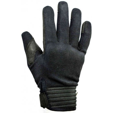 GUANTES HELSTONS SIMPLE HOMBRE NEGRO