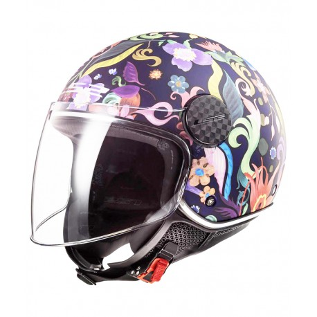 CASCO OF558 SPHERE LUX BLOOM AZUL ROSA