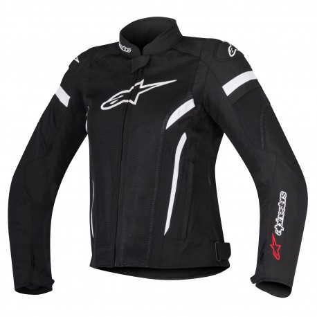 ALPINESTARS T-GP PLUS R V2 STELLA AIR NEGRA BLANCA