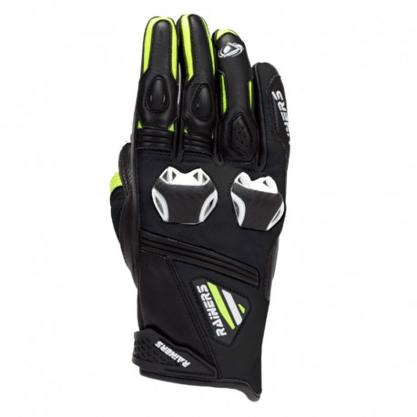 GUANTES RAINERS FACER RACING NEGRO