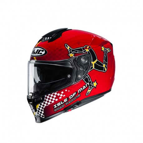 CASCO HJC RPHA70 ISLE OF MAN MC1