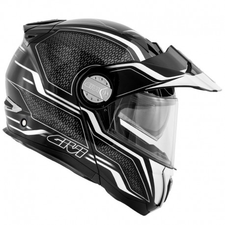 CASCO GIVI X33 CANYON LAYERS NEGRO BLANCO