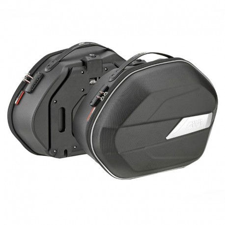 ALFORJAS LATERALES GIVI WL900 WEIGHTLESS NEGRO