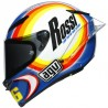 CASCO AGV PISTA GP RR VALENTINO ROSSI WINTER TEST 2005 LIMITED EDITION
