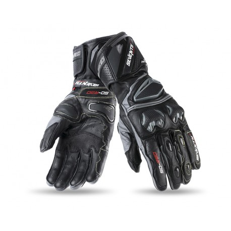 GUANTES SEVENTY DEGREES SD-R30 NEGRO