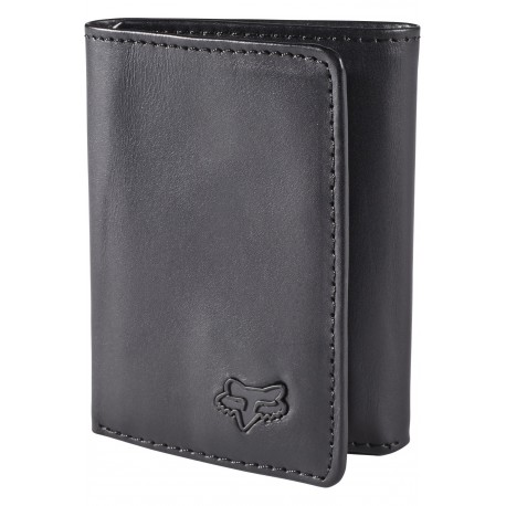 CARTERA FOX TRIFOLD NEGRO