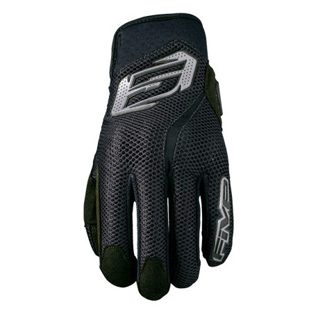 GUANTES FIVE5 RS5 AIR NEGRO