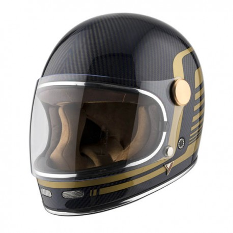 CASCO BY CITY ROADSTER CARBON II AZUL