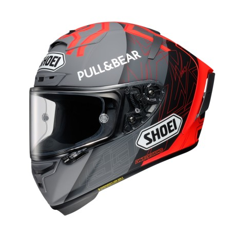 CASCO SHOEI X-SPIRIT 3 MM93 BLACK CONCEPT 2.0 TC1