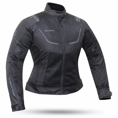 CHAQUETA DEGEND BREEZE LADY NEGRO