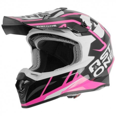 CASCO ASTONE MX800 TROPHY ROSA