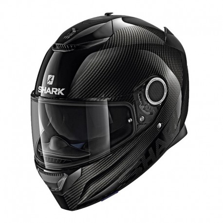CASCO SHARK SPARTAN CARBON NEGRO