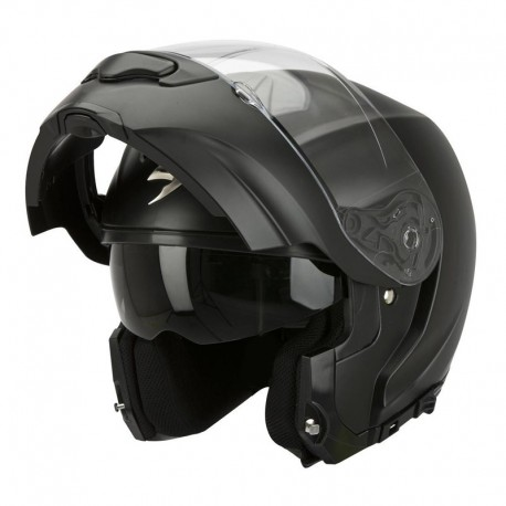 CASCO SCORPION EXO 3000 SOLID NEGRO MATE