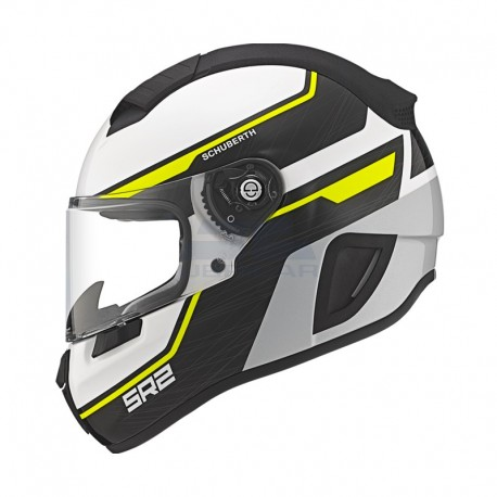CASCO SCHUBERTH SR2 LIGHTNING AMARILLO