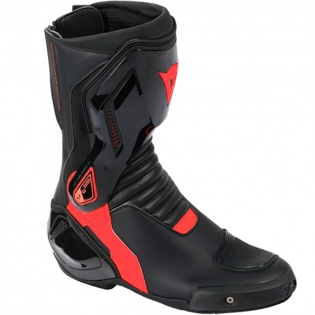 BOTAS DAINESE COURSE D1 OUT AIR NEGRO ROJO FLUOR