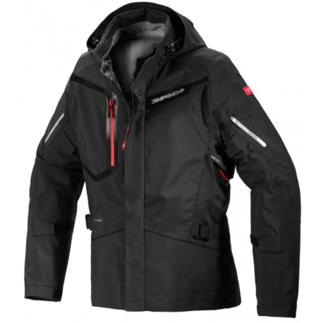 CHAQUETA SPIDI MISSION-T SHIELD NEGRO