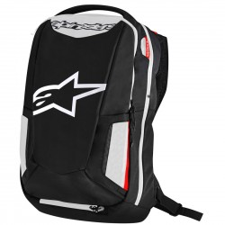 MOCHILA ALPINESTARS CITY HUNTER NEGRO BLANCO ROJO