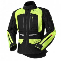 CHAQUETA RAINERS ARROW NEGRO AMARILLO FLUOR