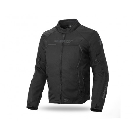 CHAQUETA SEVENTY DEGREES SD-JR65 RACING NEGRO