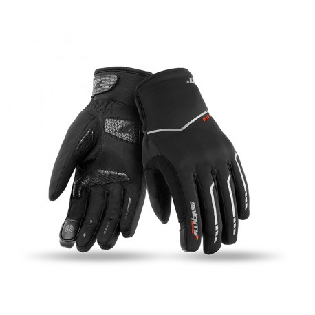 GUANTES SEVENTY DEGREES SD-C51 LADY NEGRO GRIS