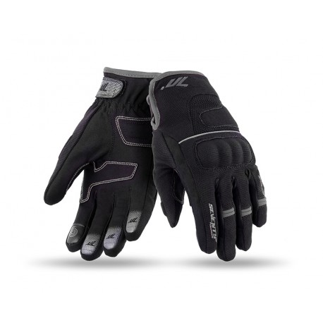 GUANTES SEVENTY DEGREES SD-C45 URBAN LADY NEGRO GRIS