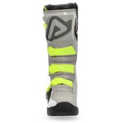 CALCETINES ACERBIS X-LEG NEGROS/GRISES