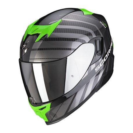 CASCO SCORPION EXO-520 AIR SHADE NEGRO VERDE