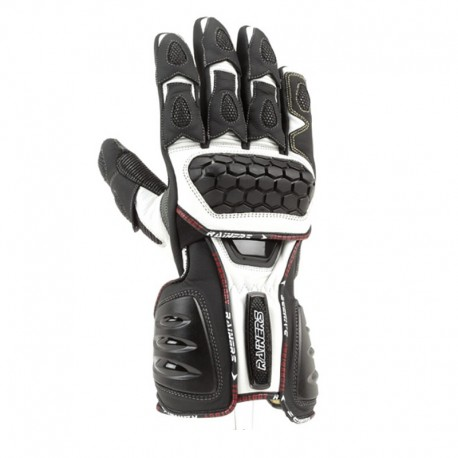 GUANTES RAINERS SNAKE BLANCO NEGRO