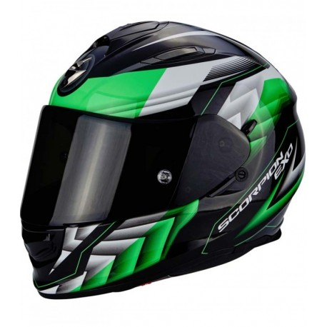 CASCO SCORPION EXO 510 SCALE NEGRO VERDE