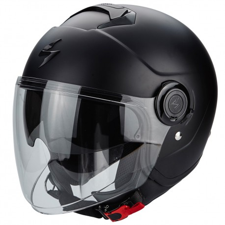 CASCO SCORPION EXO CITY NEGRO MATE
