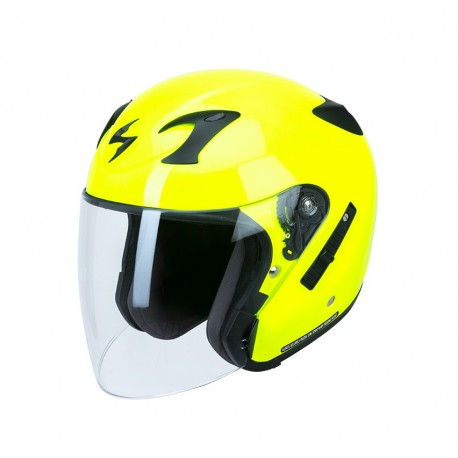 CASCO SCORPION EXO 220 AMARILLO FLUOR