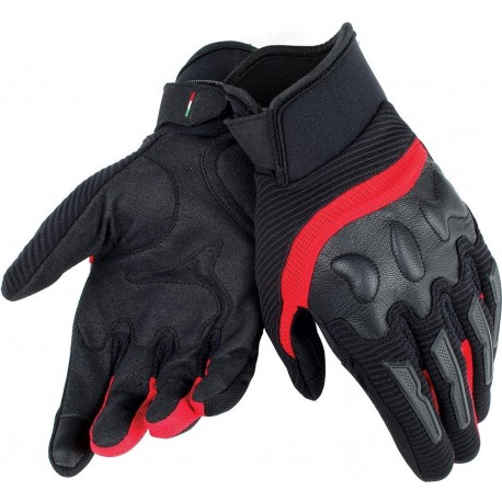 GUANT DAINESE AIR FRAME NEGRO ROJO