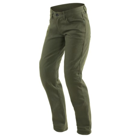 JEANS DAINESE CASUAL SLIM LADY TEX VERDE OLIVA