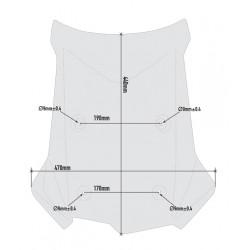 Esfera atornillada Ram Mount para el armazón del embrague o del freno con dos esferas