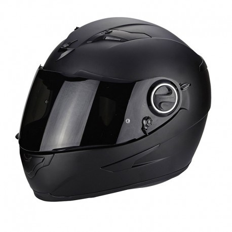 CASCO SCORPION EXO 490 NEGRO MATE