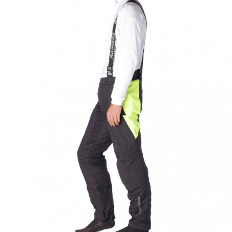 PANTALON RAINERS OXFORD NEGRO AMARILLO FLUOR