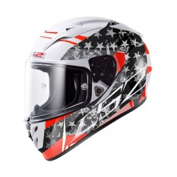CASCO LS2 ARROW R STRIDE BLANCO TITANIUM