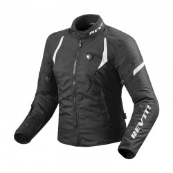 CHAQUETA REVIT JUPITER 2 LADY NEGRO BLANCO